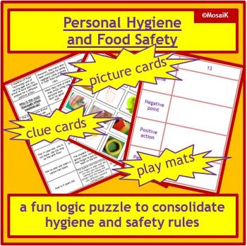Cooking: Hygiene and Safety - thinking skills, logic puzzle