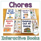 Chores Interactive Books (Adapted Books For Special Education & Life Skills)