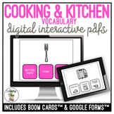 Cooking & Kitchen Supplies Functional Reading Digital Activity