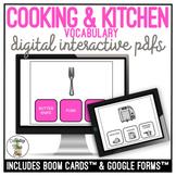 Cooking & Kitchen Supplies Digital Activity