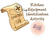 Cooking Lab Utensils & Equipment Scavenger Hunt Activity
