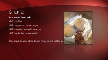 Cooking Lesson:  Apple Cherry Tart Recipe
