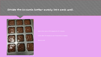 Cooking Lesson:  Brownies (Great Parent Gift for Valentine's Day)