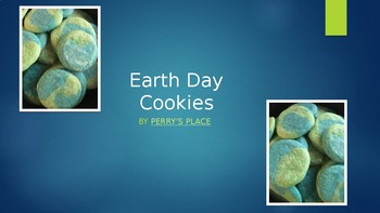Cooking Lesson:  Earth Day Cookies