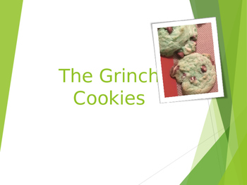 Cooking Lesson:  Grinch Cookies with Bonus Gift Labels