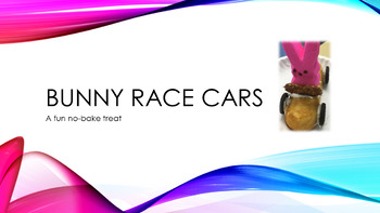 Cooking Lesson:  No-Bake Bunny Race Cars (with Venn Diagram)