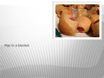 Cooking Lesson:  Pigs in a Blanket Recipe