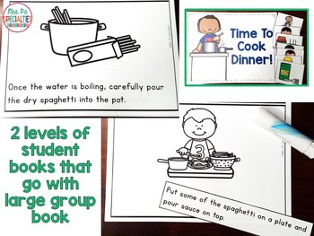 Cooking Life Skills Unit for Special Education (Autism Resource)