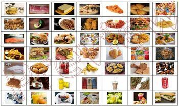Macro Nutrients fats carbs proteins board game
