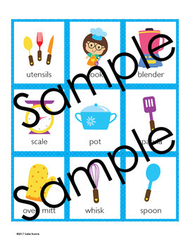 Cooking Memory Game - Cooking Theme Activity