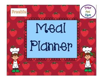 Cooking Menu Planner