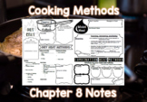 Cooking Methods (Chapter 8) Notes Plus Answers for Intro to Culinary Course