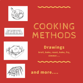 Cooking Methods Drawings