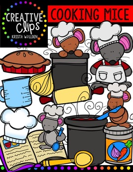 Cooking Mice {Creative Clips Digital Clipart}
