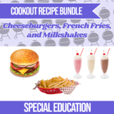 Cooking Picture Recipe Bundle - Cheeseburger, French Fries