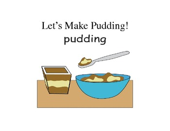 Cooking Pudding