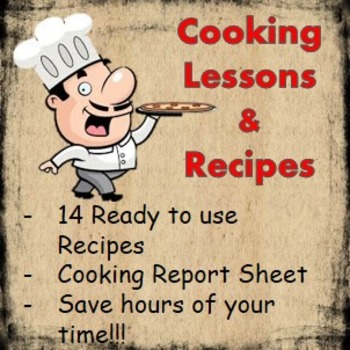 Cooking Lessons for school