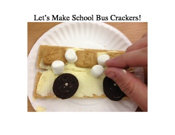 Cooking School Theme- School buses