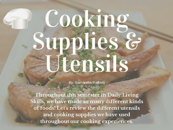 Cooking Supplies and Utensils