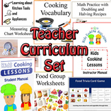 Cooking Teacher Curriculum Set for ADULTS