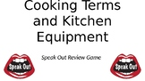 Cooking Terms and Kitchen Tools Speak Out Game