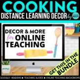 Cooking Theme | Online Teaching Backdrop | Google Classroo