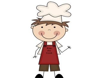Parts of Speech Posters: Cooking Theme