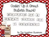 Bulletin Board Set: Cooking Themed Beginning of the Year