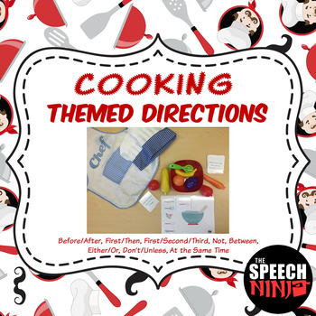 Cooking Themed Directions