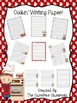 Cooking Themed Writing Paper