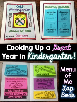 Cooking Up A Great Year in Kindergarten! {A Back to School, First Day Unit}