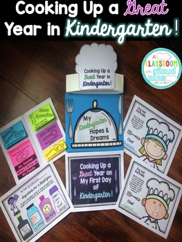 Cooking Up A Great Year in Kindergarten! {A Back to School
