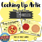 Cooking Up Artic TH, Boom Cards Speech Therapy, TH Articulation, TH sound
