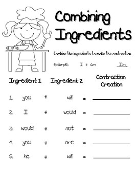 Cooking Up Contractions