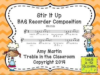 Cooking Up Great Recorder Playing BAG Recorder Stations