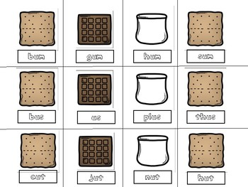 Cooking Up S'more Word Families: short u