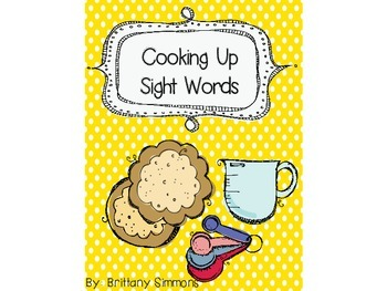 Cooking Up Sight Words