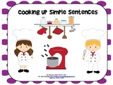 Cooking Up Simple Sentences