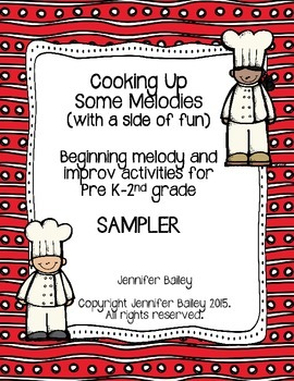 Cooking Up Some Melodies (with a side of fun) SAMPLER
