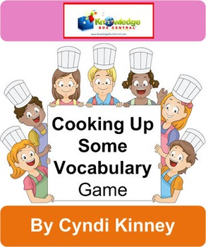 Cooking Up Some Vocabulary Game