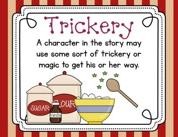 Story elements - Cooking Up Stories!