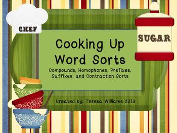 Cooking Up Word Sorts