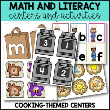 Back to School Centers for Kindergarten {Cooking Up a Great Year}