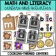Back to School Activities {Math and Literacy Centers for Kindergarten}
