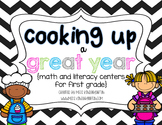 Back to School Centers for First Grade {Cooking Up a Great Year}