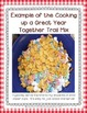 Cooking Up a Great Year Together {a tasty back to school activity}
