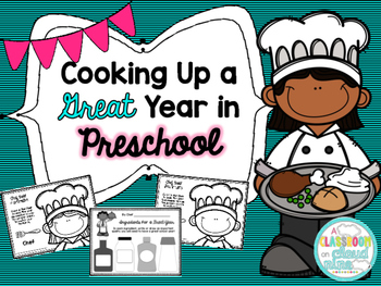 Cooking Up a Great Year in Preschool {A First Day Back to School Bundle}