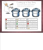 Cooking Up a Juicy Story-Story Elements for Smart Board