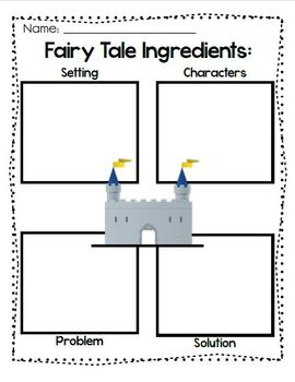 Cooking Up a Tasty Fairy Tale K-3