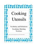 Cooking Utensils Vocabulary